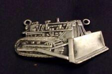 Vintage Tie Bar Or Clasp Charm John Deere, Caterpillar , A C Metal Arts Roch ,ny