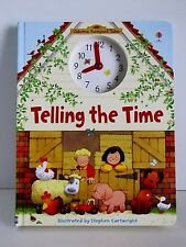 Usborne Farmyard Tales Telling the Time Hard Cover Book by Heather Amery