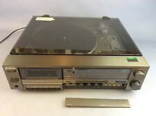 SONY MUSIC CENTRE - TURNTABLE ,AMPLIFIER ,TAPE DECK AND TUNER . MODEL JJ-700B