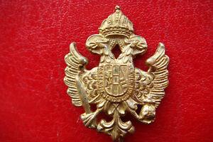 EXTREMELY RARE AUSTRIA HUNGARY EMPIRE IMPERIAL ARMY SHAKO PATRIOTIC Pin Badge