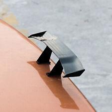 17cm Black Carbon Fiber Car Auto Tiny Mini Rear Tail Spoiler Wing Decoration New
