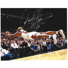 NBA Chicago Bulls Dennis Rodman #91 Signed Autographed Photographed 8x10 Picture