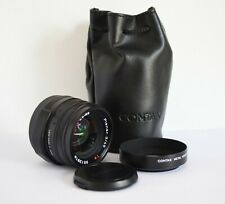 Carl Zeiss Planar 45mm f/2 T lens for Contax G2 BLACK 35mm rangefinder Ex++