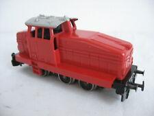 Märklin H0 Diesellok DGH 500 rot , Verglasung fehlt  #19C-8