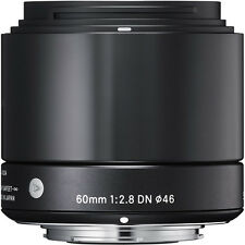Sigma 60mm f/2.8 ART DN Lens Micro Four Thirds M4/3 Black Olympus Panasonic