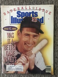 Sports Illustrated - Baseball Issue - April 16, 1990 - TED WILLIAMS