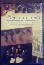 The Black College Fund Instruments of Change United Methodist Degrees DVD NIP
