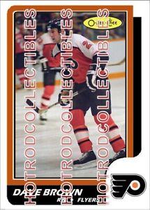 1986-87 TOPPS OPC O Pee Chee Custom Dave Brown Philadelphia Flyers NHL #539
