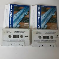 THE KINKS BACKTRACKIN' 2 X CASSETTE TAPE COMPILATION STARBLEND RECORDS UK 1985