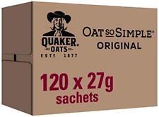 Quaker Oat So Simple Original Porridge, 27 g, Pack of 120