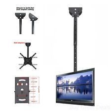 TV Ceiling Plate Wall Mount Monitor Flat Panel Screen Display Video Home LCD Lb