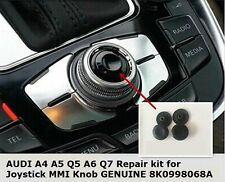 "Audi A4 A5 A6 Q5 Q7 Repair kit for Joystick MMI Knob ""Brand New with Tracking"""