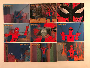 SPIDER-MAN ORIGINAL ANIMATED SERIES Complete LENTICULAR Card Set by RITTENHOUSE