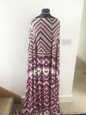 Stretch Jersey  Dressmaking Fabric Chevron Geometric & Floral Mosaic 2.6 mts