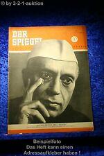 Der Spiegel 27/51 4.7.1951 Auf dem 3. Weg Mann ohne Zuhause; Jawaharlal Nehuru