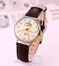 1950's North Pole men's mechanical USSR (Soviet) wrist watch, 1 MChZ, 17 jewels