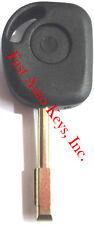 NEW REPLACEMENT TRANSPONDER CHIPPED UNCUT BLADE IGNITION KEY BLANK - FIT JAGUAR