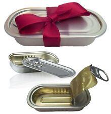 2x Lustige Geschenkverpackung eine Überraschung in Dose zum Versiegeln Originell