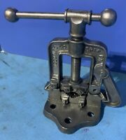 Vintage Reed Pipe Vise No. 70 Patent 1914 Plumbing Antique Casting Misprint