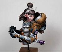 1/10 BUST Female Space Trooper Resin Figure Model Kit Unassambled Unpainted