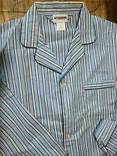 MCGREGOR CLASSICS Men's VTG 2 Piece Pajama Set Blue Striped Pants Top NWOT  SM
