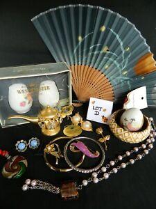 Jewellery & Collectables Bulk Lot Vintage & Newer Wear Craft Repair Lot D