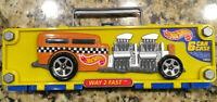Mattel Hot Wheels 6 Car Case (Plus Two Vehicles) - 1998 Way 2 Fast Excellent POC