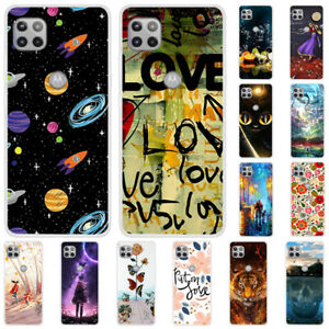 For Motorola Moto G 5G G Fast Slim Painted Soft Silicone Rubber TPU Case Cover