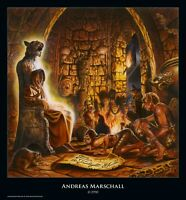 Rock-Poster BLIND GUARDIAN - Tales from the Twilight World von Andreas Marschall