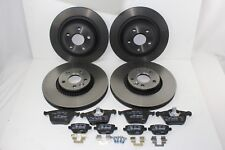 Original Brake Discs + Brake Pads Front+Rear Ford Galaxy - S-MAX 59994411
