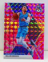 Dillon Brooks 2019-20 Panini CAMO PINK MOSAIC PRIZM Card # 66 Memphis Grizzlies