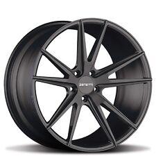 "New(4) 22"" Zenetti Wheels Venice Satin Black Rims"