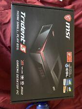 MSI Trident 3 Gaming Desktop Core i5 6400T 2.2 Ghz.4GB DDR4 RAM MSI GTX1060 6GB
