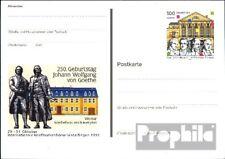 BRD (BR.Duitsland) PSo62 Speciale Postkaarten gefälligkeitsgestempelt gebruikt 1
