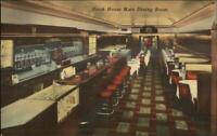 Wheeling WV The Steak House LINEN RESTAURANT INTERIOR & BAR Postcard