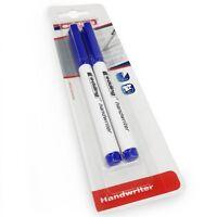 Edding Handwriter Schreibschrift Stift – Blaue Tinte – 0.6mm - Blister Pack 2