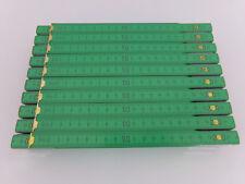 20x Zollstock | Maßstab | Gliedermaßstab | Schmiege  2m - grün