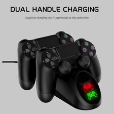PS4 Controller Charger Playstation 4 Games LED Dual USB Charger Stand Holder DO1