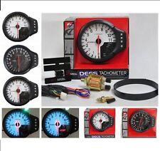 Apexi  DECS Tachometer - System Meter - El II RPM - 3 in 1 - Oil - Temp - Rev