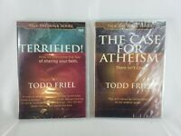 Terrified! by Todd Friel MP3 CD Audiobook Talk The Walk Series christian + DVD