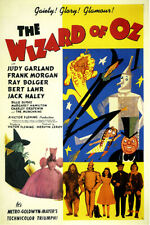 Wizard of Oz Vintage Judy Garland Movie Poster 2