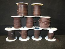 """ReaLeather - Deerskin Lot - Leather Lace - 3/16"""" - Chocolate"""