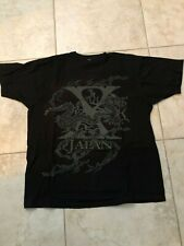 X Japan Yoshiki - Official Tour Shirt Men's XL Red & gray on Black - RARE