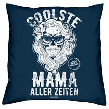 1b42b93d86 Geschenk Set für Mama Kissen & Urkunde Muttertag Geburtstag Weihnachten  navyblau
