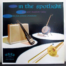 Joe and Marion Talley with Dick Anthony Choristers In The Spotlight Gospel LP