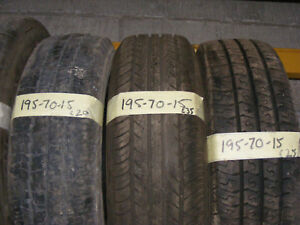 195 70 15 PART WORN VAN TYRES FITTED AND BALANCED