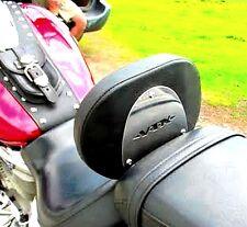 HONDA VTX 1800 VTX1800 RETRO & CUSTOM STAINLESS STEEL  DRIVER RIDER BACKREST