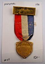 1926 IOOF Grand Lodge of Nebraska FLT Order of Odd Fellows Fraternal Pin Badge