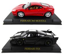 Lot de 2 Ferrari 360 Modena et FXX - 1/43 IXO Altaya Voiture miniature