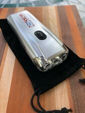 Garrity 1225-11SL Power Lite 3 LED Crank Rechargeable Flashlight with Pouch